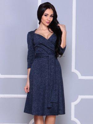 Платье темно-синее | 3997226
