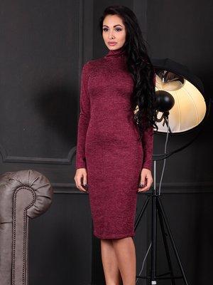 Платье бордовое | 3997229