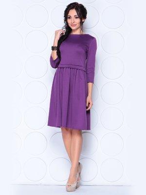 Платье темно-фиалковое | 3997251