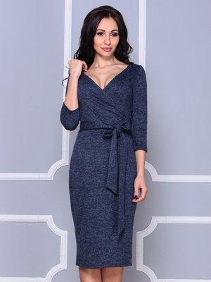 Платье темно-синее | 3997267