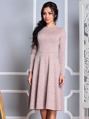 Платье персиковое | 3997290