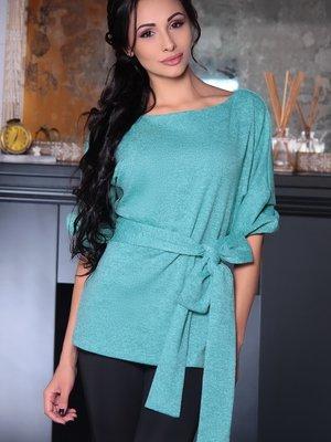 Блуза мятного цвета | 3997309