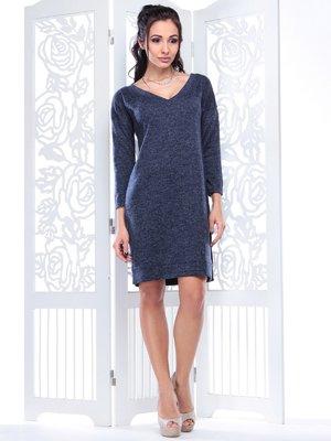 Платье темно-синее | 3997358