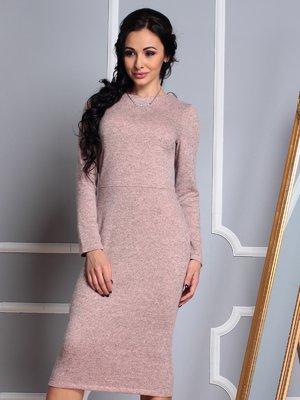 Платье цвета пудры | 3997375