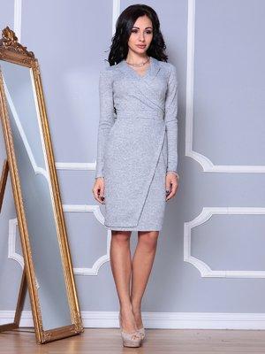 Платье светло-серое | 3997406