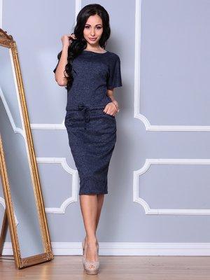 Платье темно-синее | 3997427