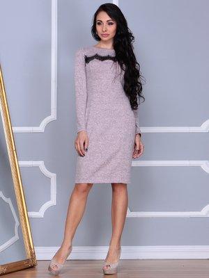 Платье бежевое | 3997447
