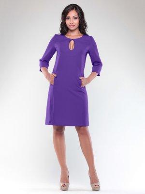 Платье фиалкового цвета | 3997625
