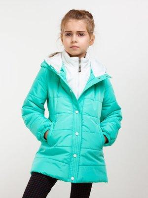 Куртка бирюзовая | 4002130