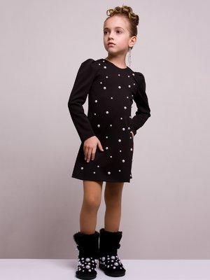 Платье черное | 4002143