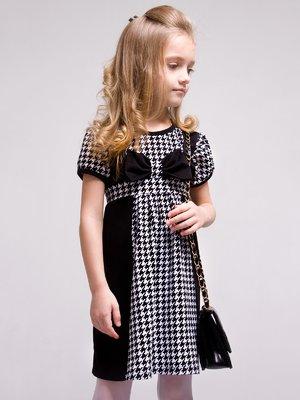 Платье в гусиную лапку | 4002145