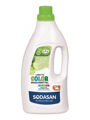 Органическое жидкое средство Color для стирки цветных и черных вещей, со смягчителем воды (1,5 л) | 4002157