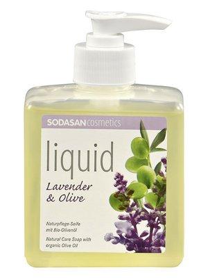 Мыло органическоеLavender-Olive жидкое, успокаивающее, с лавандовым и оливковым маслами (0,3 л) | 4002206