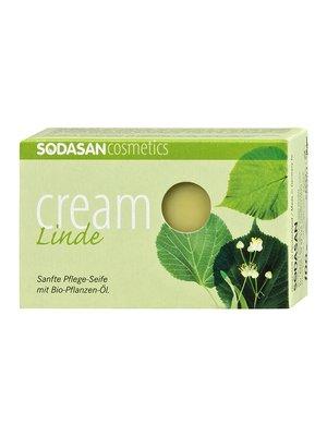 Органическое мыло-крем Lime Tree Blossoms для лица (100 г) | 4002215