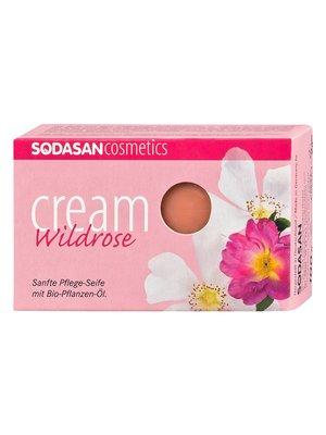 Органическое мыло-крем Wild Roses для лица (100 г) | 4002219