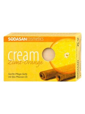 Органическое мыло-крем Cinnamon-Orange для лица (100 г) | 4002220