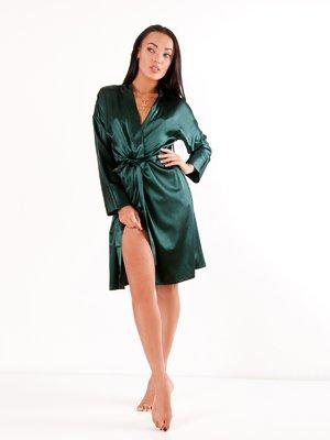 Халат темно-зелений   4003076