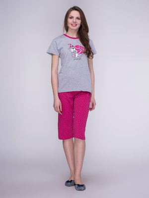 Піжама: футболка і бриджі | 3996212