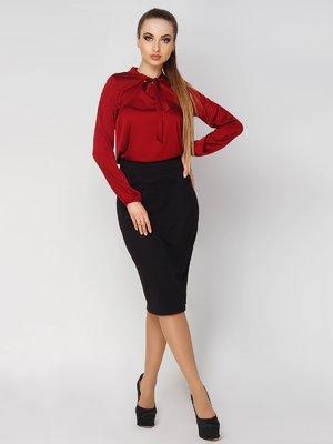 Блуза бордовая | 4003426