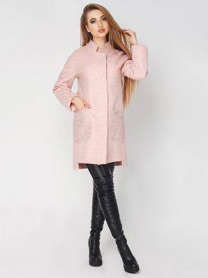 Пальто персикового кольору   4003443