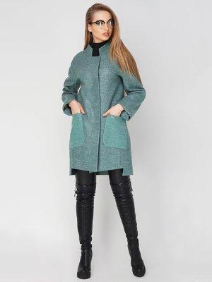 Пальто оливкового кольору | 4003444