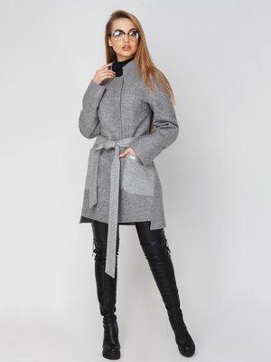 Пальто сіре | 4003445