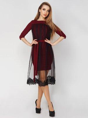 Платье двухцветное   4003450