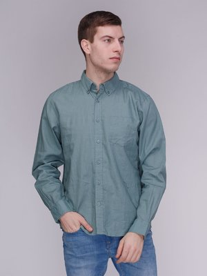 Сорочка кольору хакі   3984160