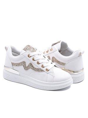 Кроссовки белые   4005135