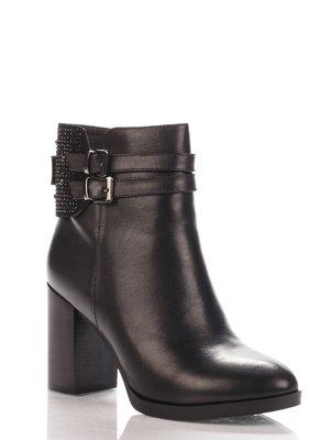Ботинки черные   4000169
