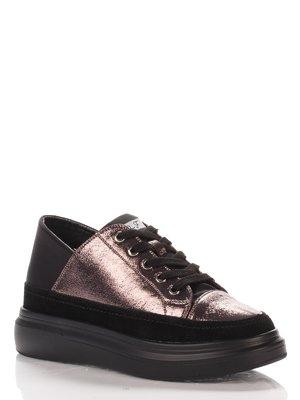 Туфли черно-бронзового цвета | 4000130