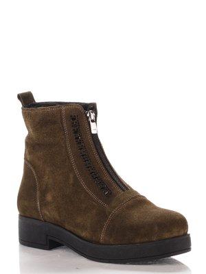 Ботинки зеленые   4000158