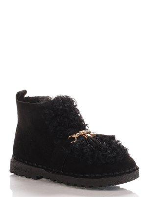 Ботинки черные   4000101