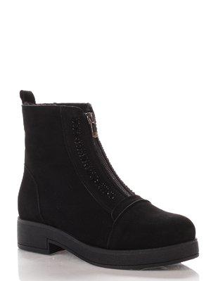 Ботинки черные   4000156