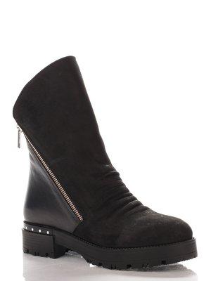 Ботинки черные   4000145