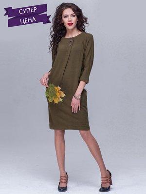 Платье цвета хаки   5327067