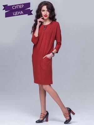 Платье терракотовое   2022558