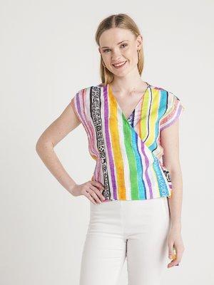 Блуза в полоску | 4012128