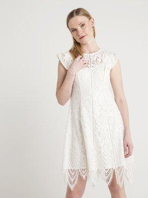 Платье кремового цвета | 4012163