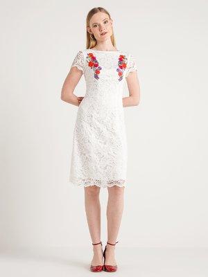 Платье кремового цвета | 4012167