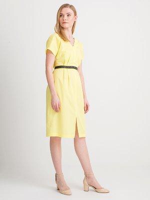 Платье желтое | 4012177
