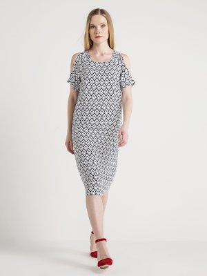 Платье в принт | 4012178