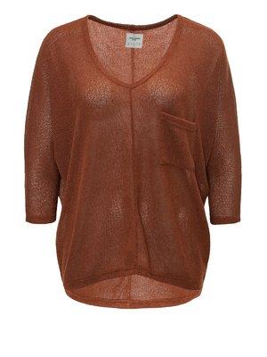 Пуловер коричневый | 4013237
