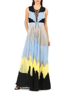 Платье комбинированной расцветки | 4011241