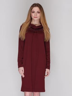 Сукня бордова | 4009687