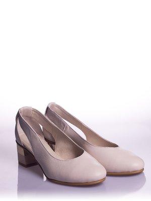 Туфли бежевые | 4018494