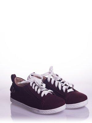 Туфли бордовые | 4018505