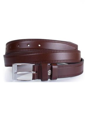 Ремень коричневый (115 см) | 4015457