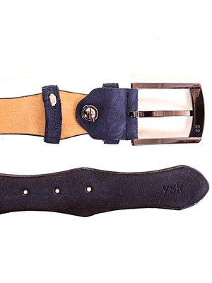 Ремень синий (115 см) | 4016047