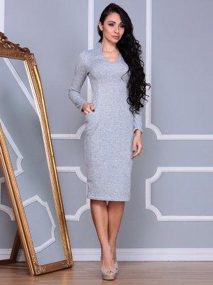 Платье светло-серое | 4002602